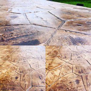 Koopmans Concrete | Stamped Concrete Project